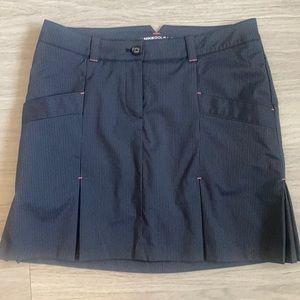 ✔️Black Striped Nike ✔️Golf Tour Skirt - 6
